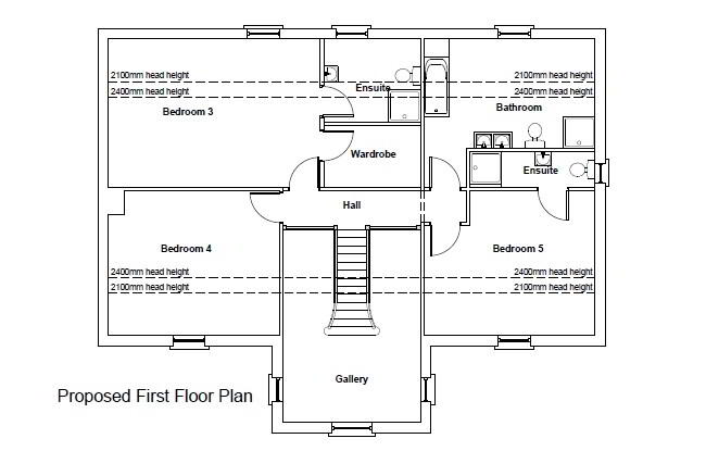 Floorplan 6 of Between 93 & 101 Rock Road, Rock Road Detached, Armagh