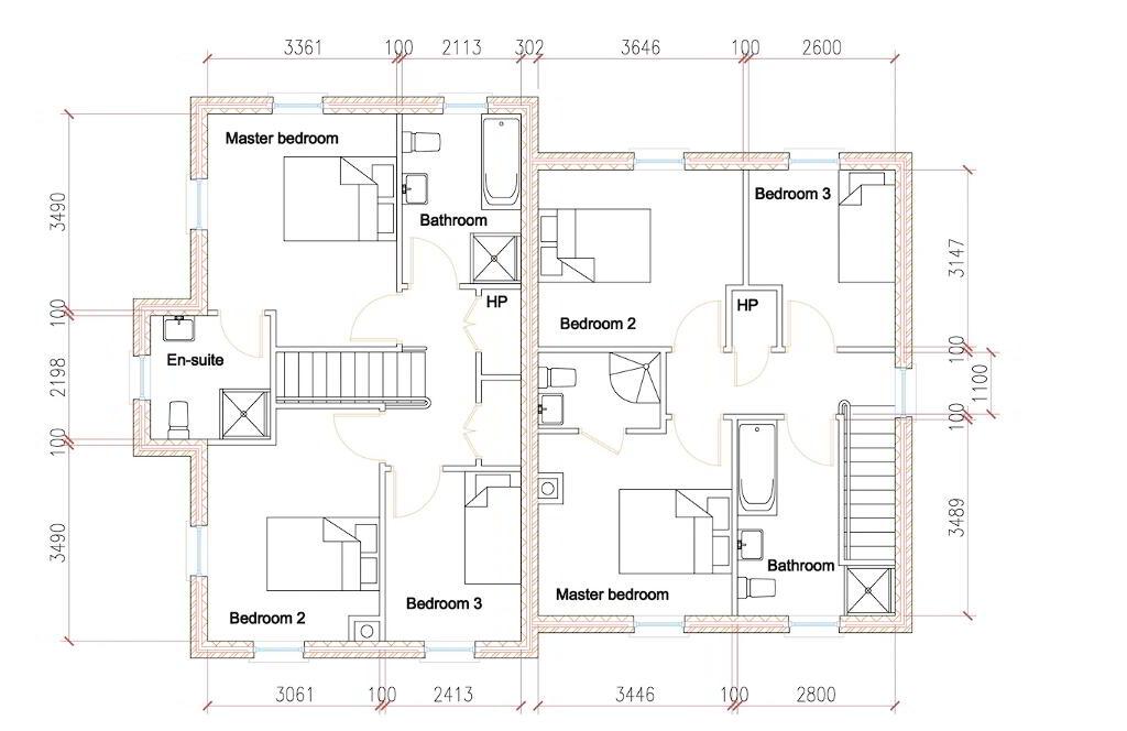 Floorplan 2 of House Type S3, Shanmoy Downs, Eglish, Dungannon