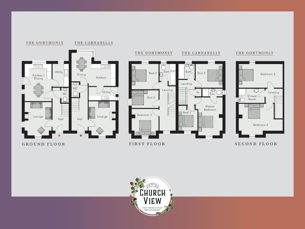 Floorplan 1 of The Gortmonly, Church View, Ballygawley, Omagh