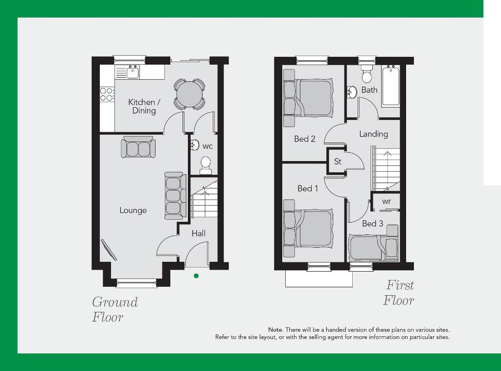 Floorplan 1 of The Hope (Brick), Ballyveigh, Ballygore Road, Antrim Bt41 2Fg