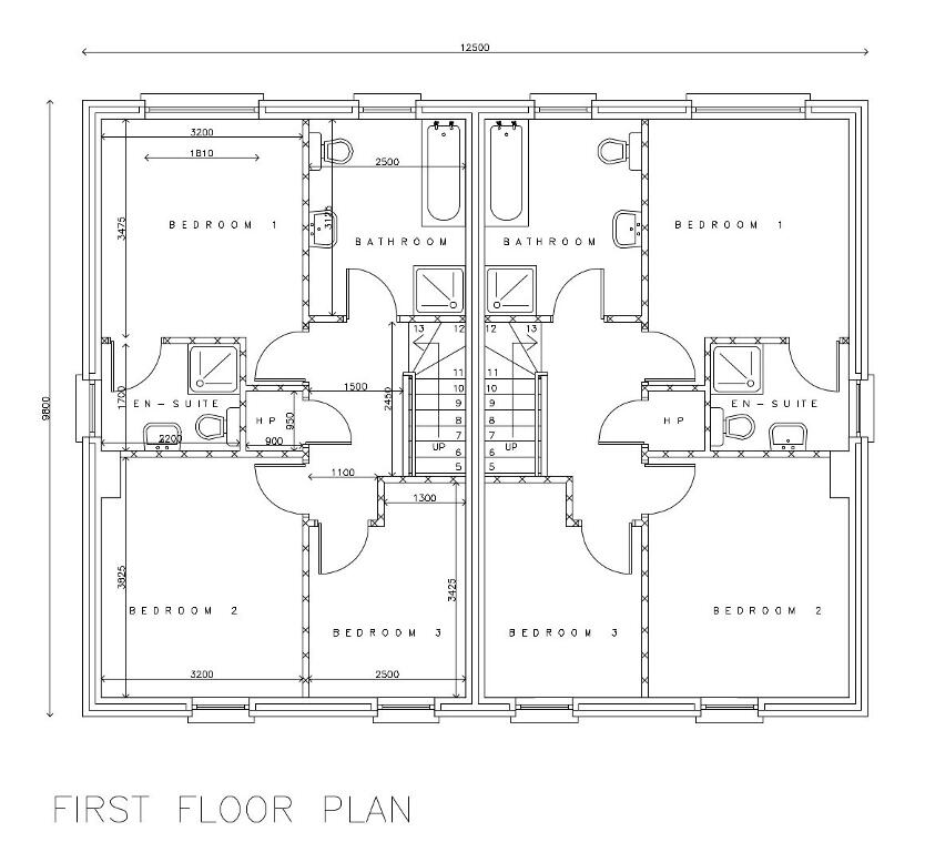 Floorplan 3 of Torrent Glen - Three Bed Semi Detached, Torrent Glen, Dungannon, Castlecaulfield