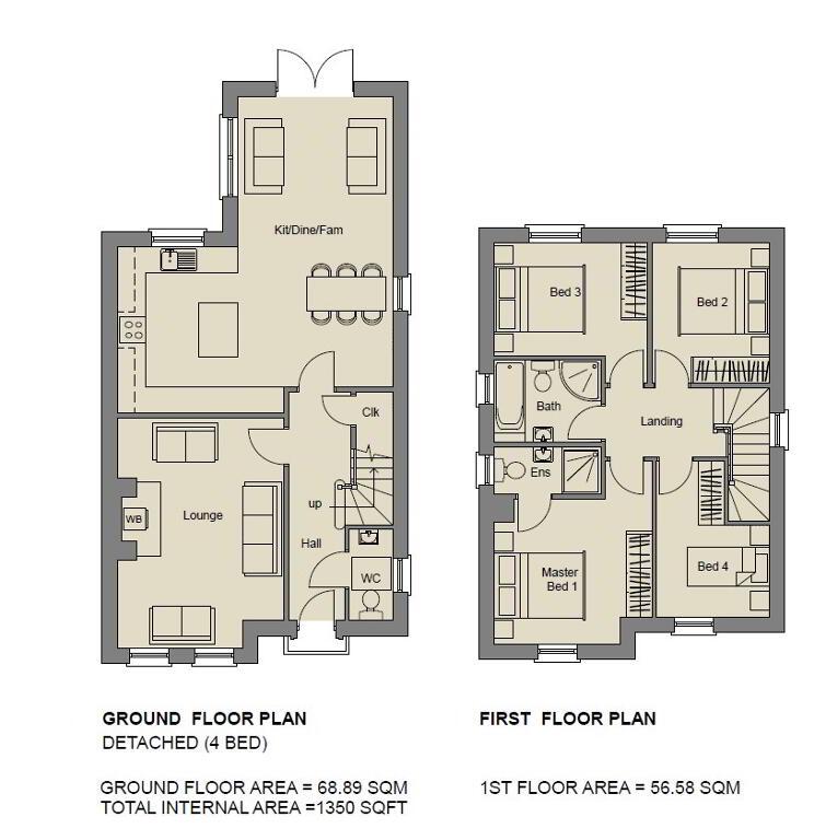 Floorplan 1 of The Emerald (1), Stoney Manor, Woodside Road, L'Derry