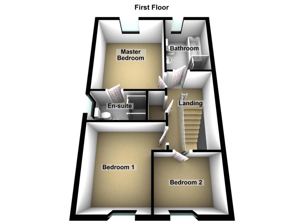 Floorplan 3 of Type 'A', Forde Gardens, Seaforde, Seaforde