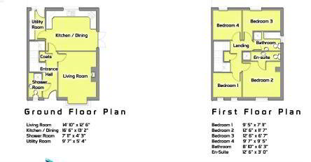 Floorplan 1 of The Fallon, Millbrook, Washingbay Road, Coalisland