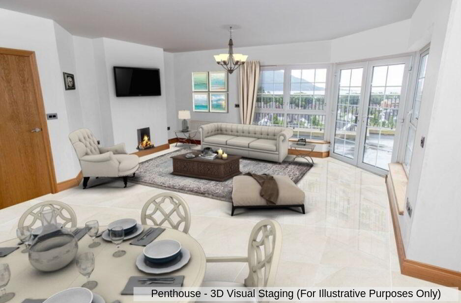Photo 3 of The Penthouse, Fourth Floor 3 Bedroom Apartment, Seafields Court, ...Warrenpoint