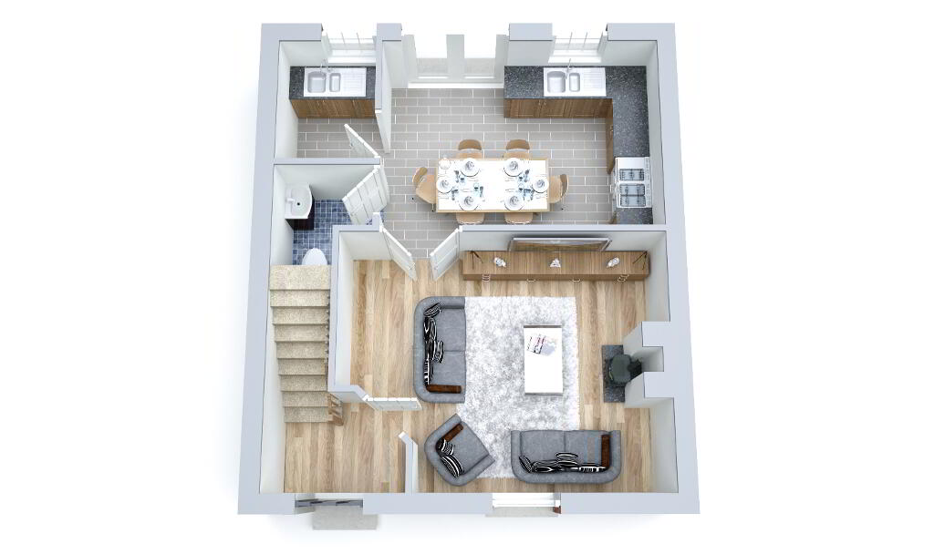 Floorplan 2 of The Granary, Strawberry Lane, Strawberry Lane, Killylea