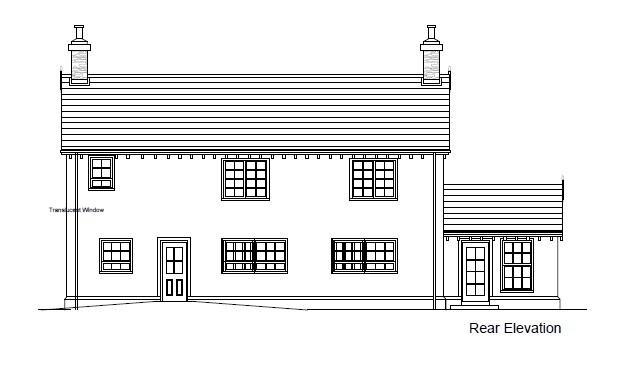 Floorplan 2 of Between 93&101 Rock Road, Rock Road Detached, Armagh