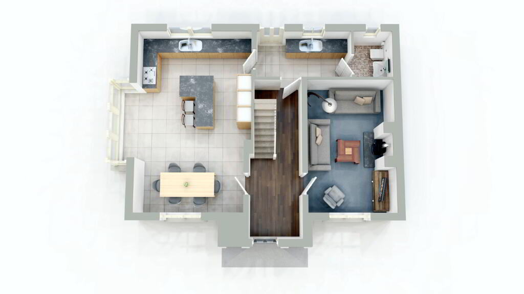 Floorplan 1 of Detached, Mount Bernard Rise, Strabane Road, Castlederg