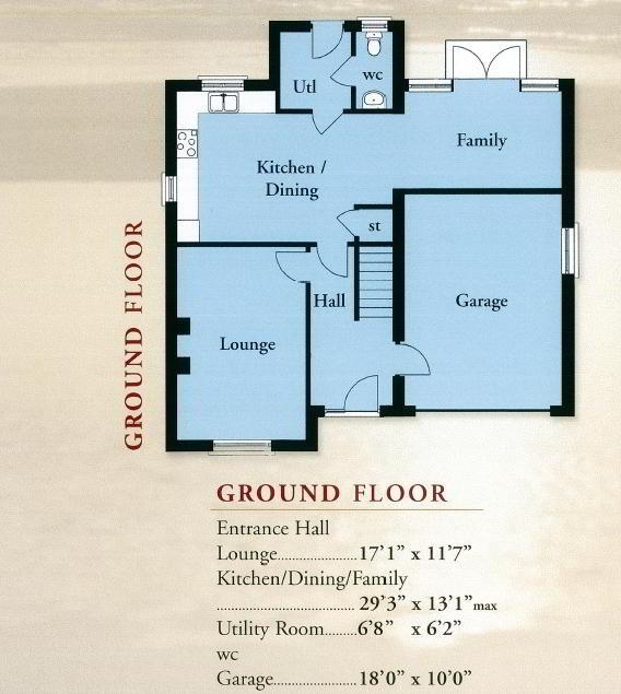 Floorplan 1 of The Boretree, St Andrews Point, Ballyhemlin, Ballyhalbert