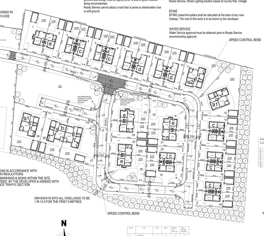 Floorplan 3 of House Type E, Moorwood Drive, Moortown, Cookstown
