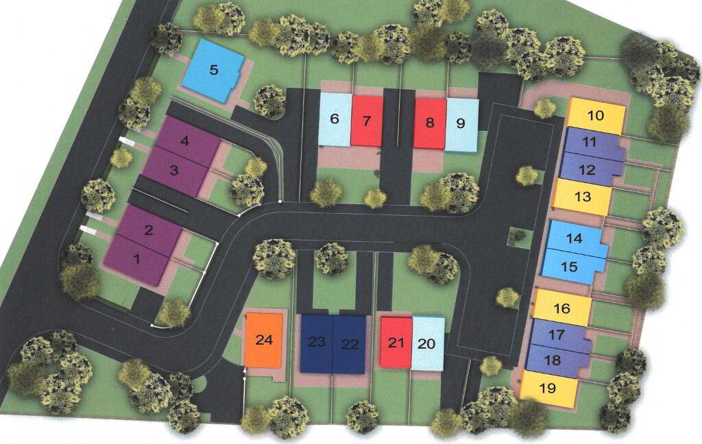 Floorplan 3 of Townhouse 4B, Linen Hall, Loughgall Road, Portadown