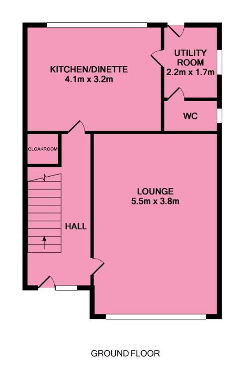 Floorplan 1 of Detached, Ballybay Meadows, Loughgall Road, Portadown