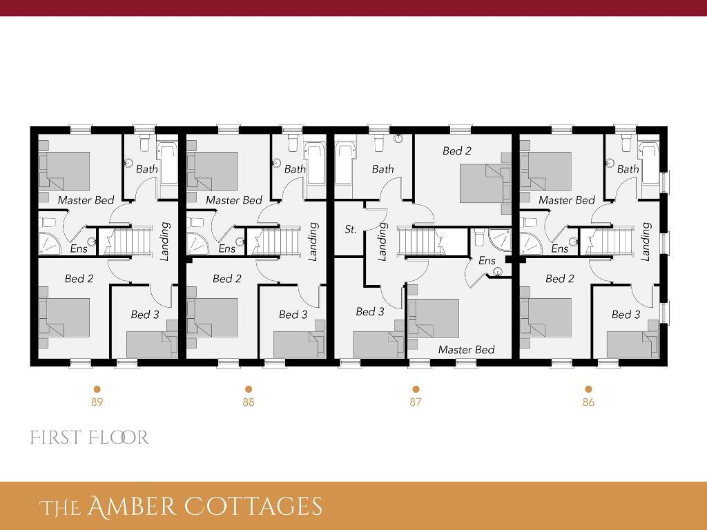 Floorplan 2 of The Amber Cottages, Ro Rua, Moneynick Road, Toomebridge
