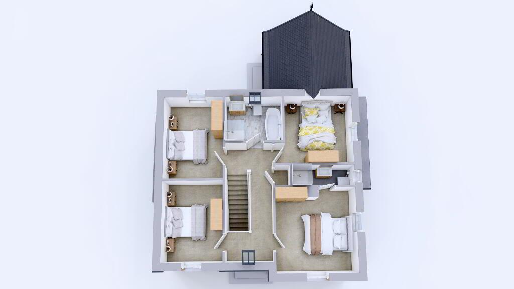 Floorplan 2 of Ht1, New Development Coming Soon, Portadown