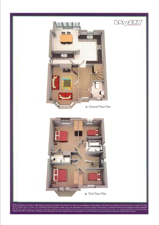 Floorplan 1 of The Beech, Woodville Gate, Lurgan