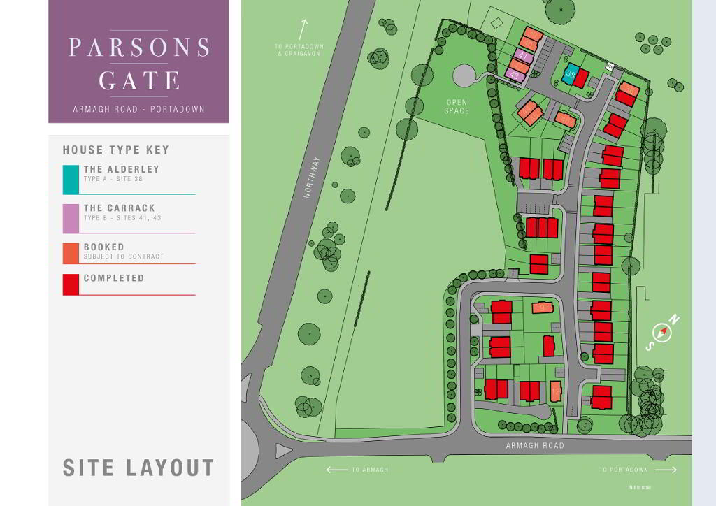 Floorplan 3 of The Carrack C, Parsons Gate, Armagh Road, Portadown