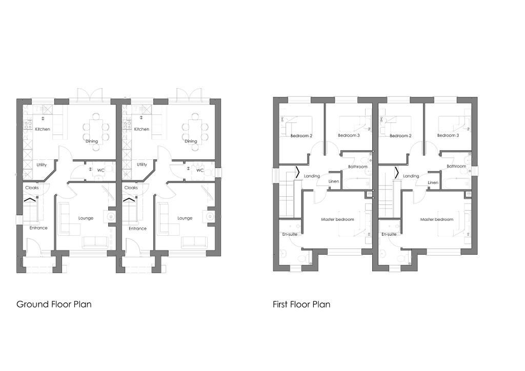 Floorplan 1 of Type A, Shaftesbury, Bangor