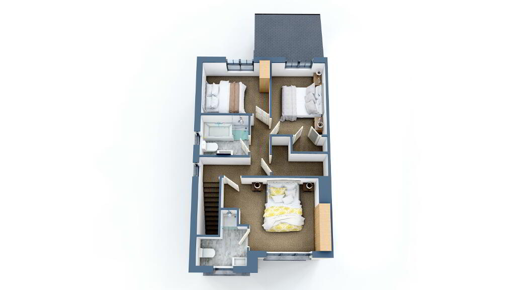Floorplan 2 of Ht - 2A, Loughmuck Meadows, Fintona