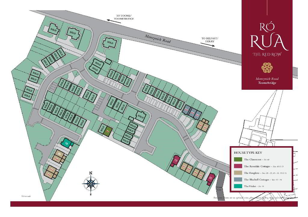 Floorplan 2 of The Violet, Ro Rua, Moneynick Road, Toomebridge