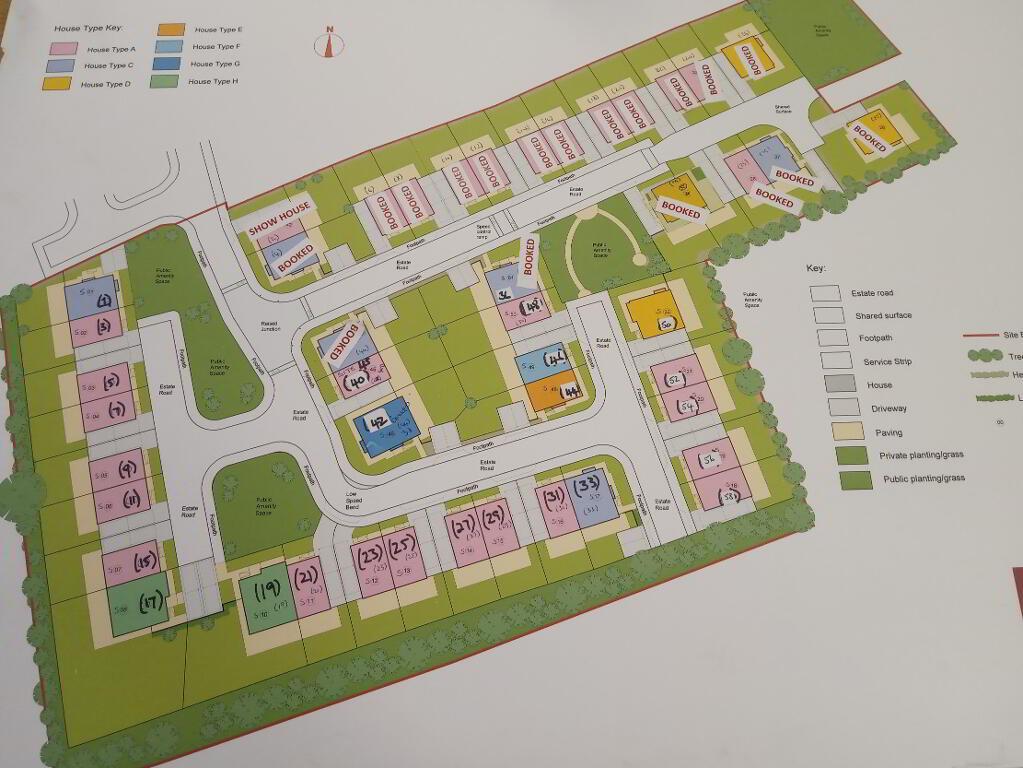 Floorplan 1 of Type 'A', Forde Gardens, Seaforde, Seaforde
