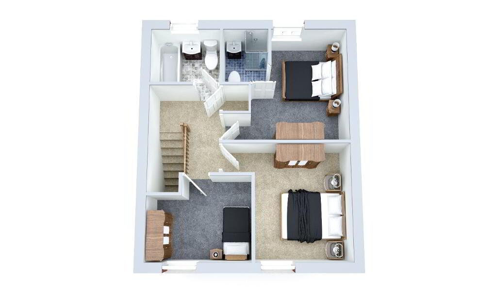 Floorplan 3 of The Huntsman, Strawberry Lane, Strawberry Lane, Killylea