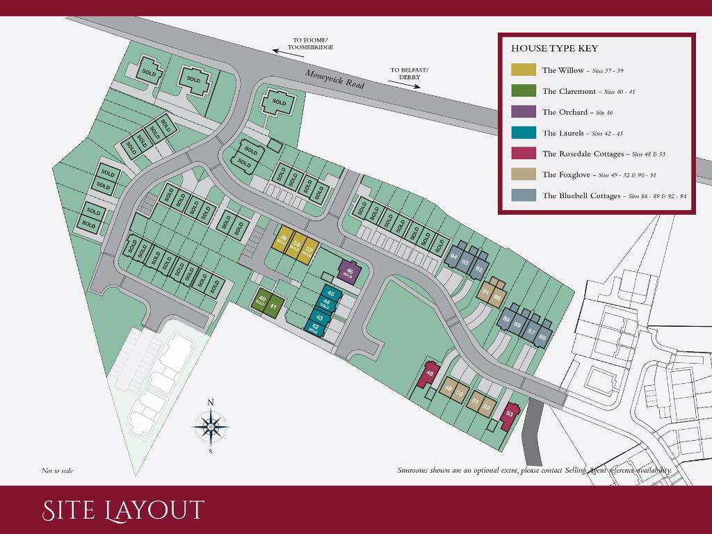 Floorplan 3 of The Willow, Ro Rua, Moneynick Road, Toomebridge