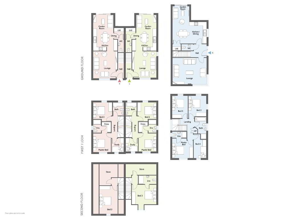 Floorplan 1 of Type B, College Mews, Doury Road, Ballymena