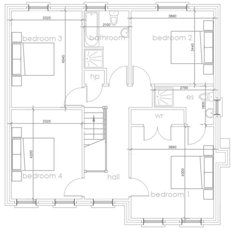 Floorplan 2 of Htc, Monree Hill, Monree Road, Donaghcloney, Banbridge
