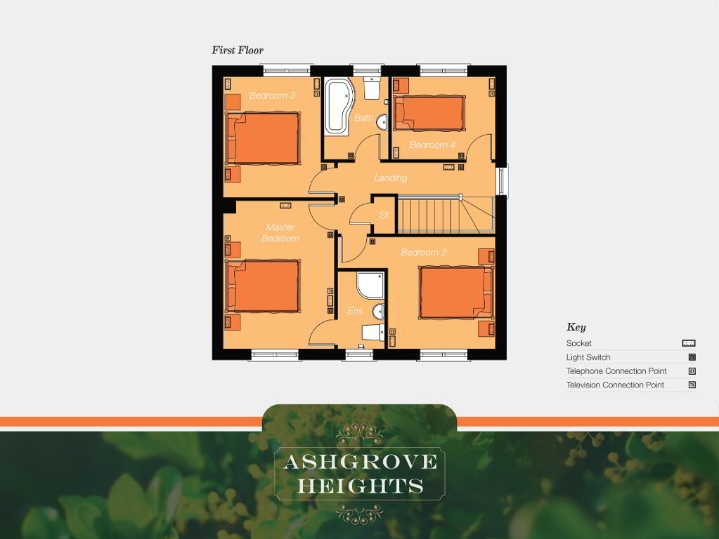 Floorplan 2 of The Rathgar, Ashgrove Heights, Ashgrove Heights, Portadown