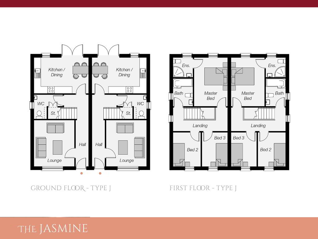 Floorplan 1 of The Jasmine, Ro Rua, Moneynick Road, Toomebridge
