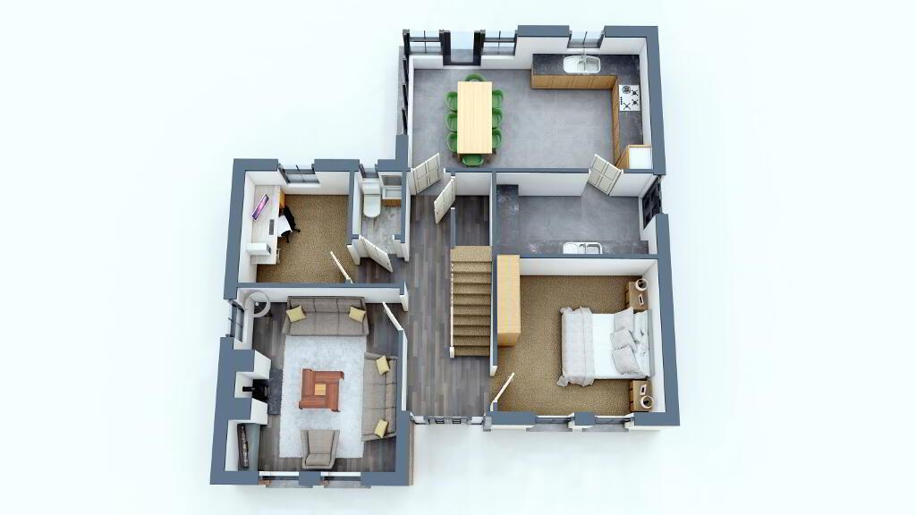 Floorplan 1 of Detached, Loughmuck Meadows, Fintona