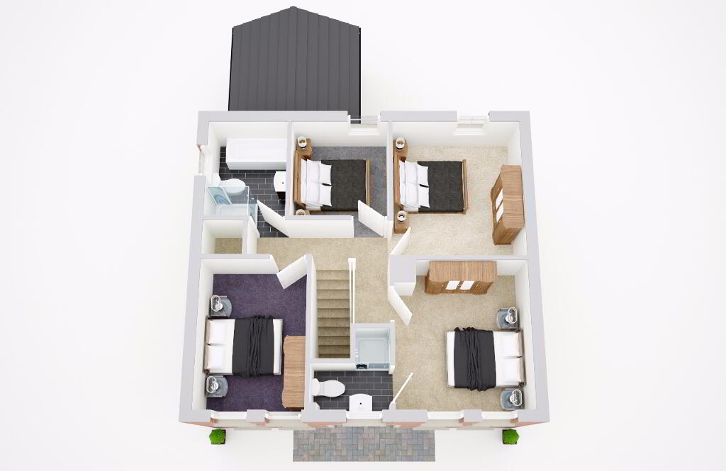 Floorplan 2 of The Fairway, Cavanacaw Grange, Cavanacaw Road, Armagh