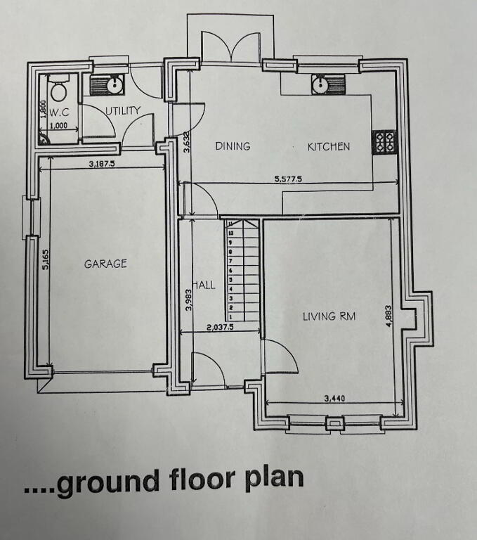 Floorplan 2 of House Type 2, Shanmoy Downs, Eglish, Dungannon