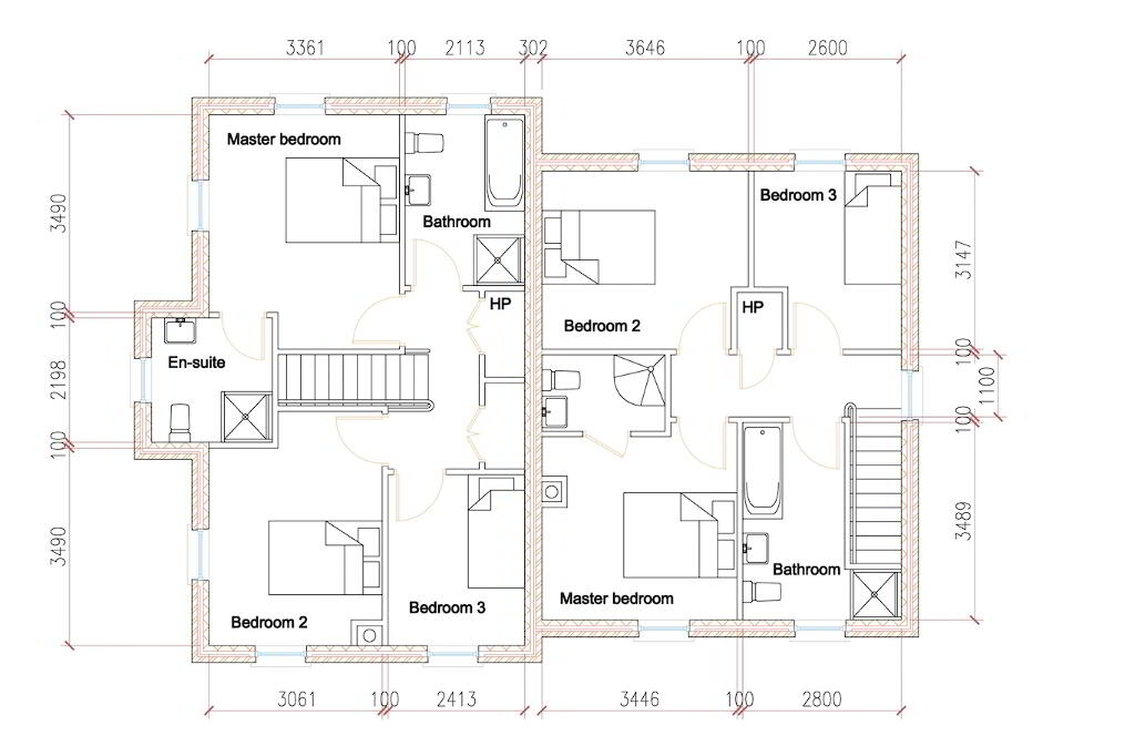 Floorplan 2 of House Type S4, Shanmoy Downs, Eglish, Dungannon