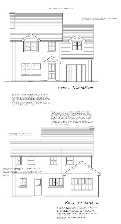 Floorplan 1 of Detached With Garage, Lilburn Hall Manor, Lurgan