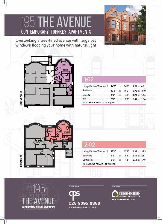 Floorplan 2 of 1:02, The Avenue, 195 Templemore Avenue, Belfast