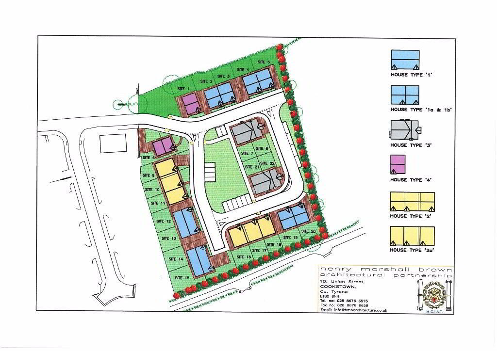 Floorplan 3 of House Type 4, Carryview, Coagh, Urbal Road, Coagh