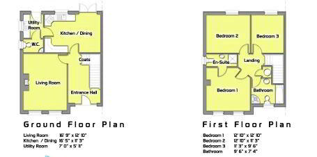 Floorplan 1 of The Cronan, Millbrook, Washingbay Road, Coalisland