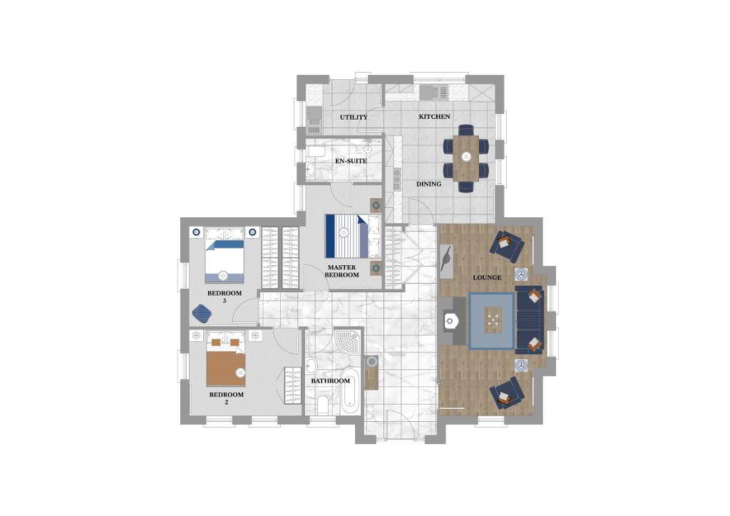 Floorplan 1 of Cherrybrook, Deanery Demesne, Portadown Road, Armagh