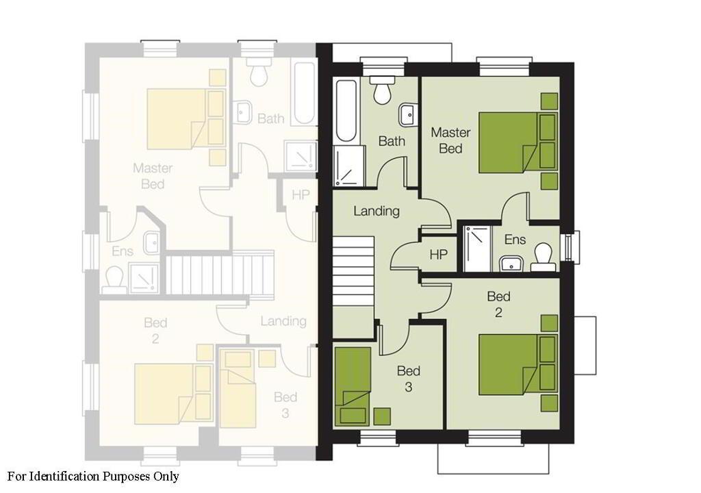 Floorplan 2 of The Oak, The Orchards, Portglenone