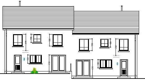 Floorplan 1 of House Type 23A, Cloneen Crescent, Cloneen Crescent, Maghera