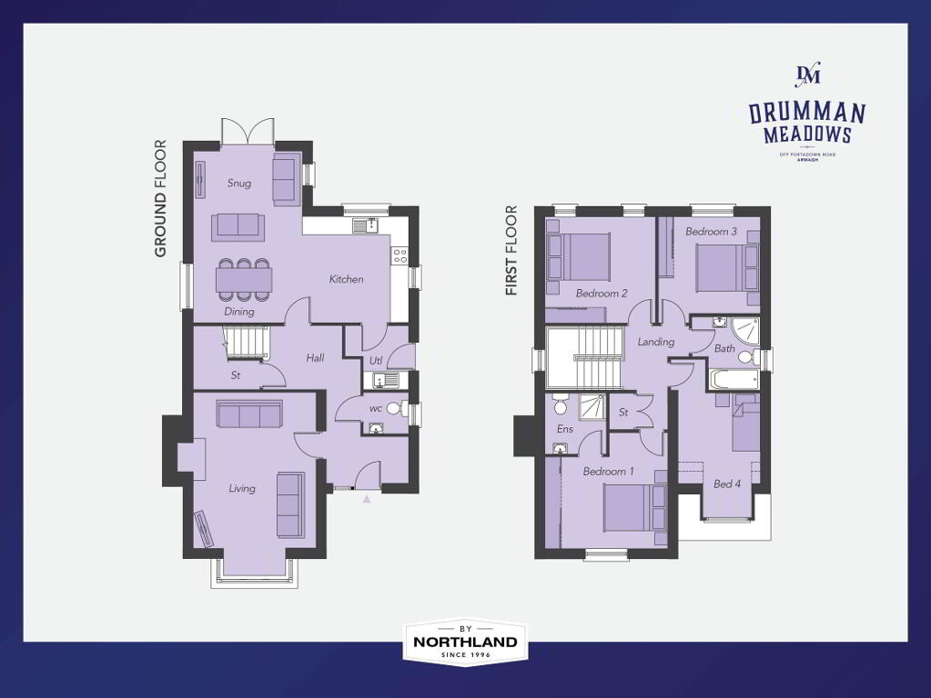 Floorplan 1 of The Signal House, Drumman Meadows, Portadown Road, Armagh