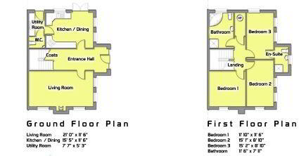 Floorplan 1 of The Braden, Millbrook, Washingbay Road, Coalisland