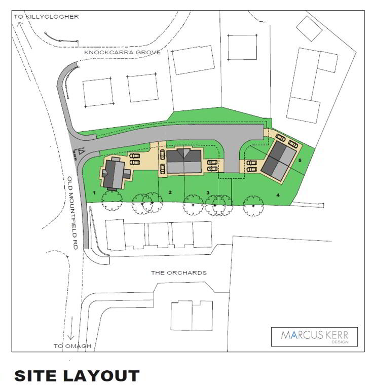 Floorplan 2 of Semi Detached Property, Knockcarra Dell Development, Old Mountfield Road, Omagh