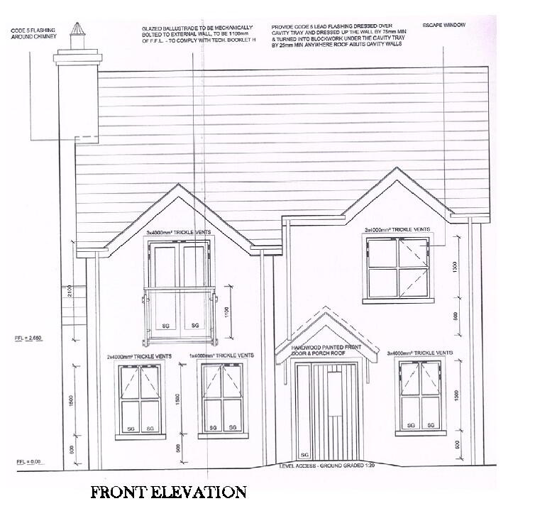 Floorplan 1 of Four Bed Detached, Larkmount, Greencastle Road, Kilkeel