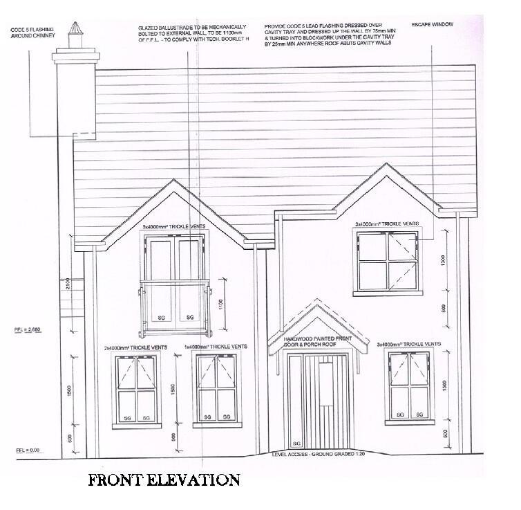 Floorplan 1 of Four Bed Detached, Larkmount, Greencastle Road, Kilkeel