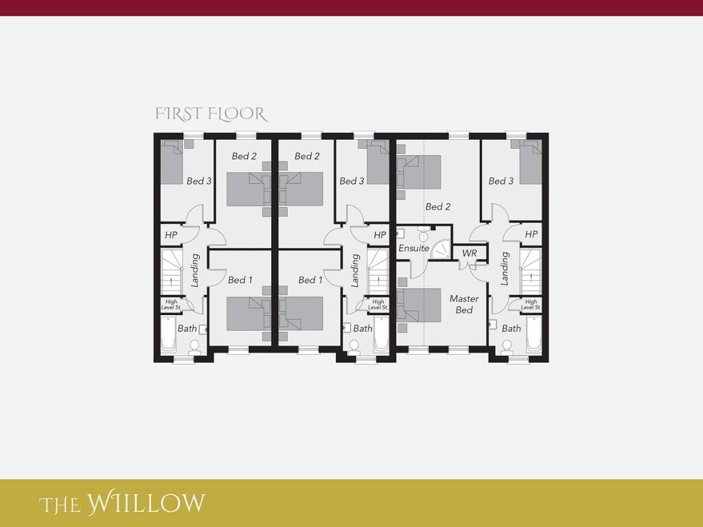 Floorplan 2 of The Willow, Ro Rua, Moneynick Road, Toomebridge