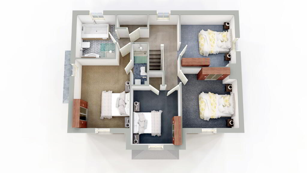 Floorplan 2 of Detached, Mount Bernard Rise, Strabane Road, Castlederg
