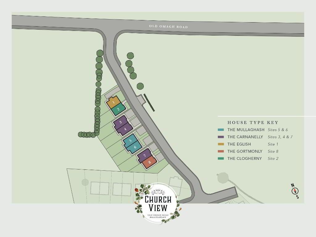 Floorplan 2 of The Carnanelly, Church View, Ballygawley, Omagh