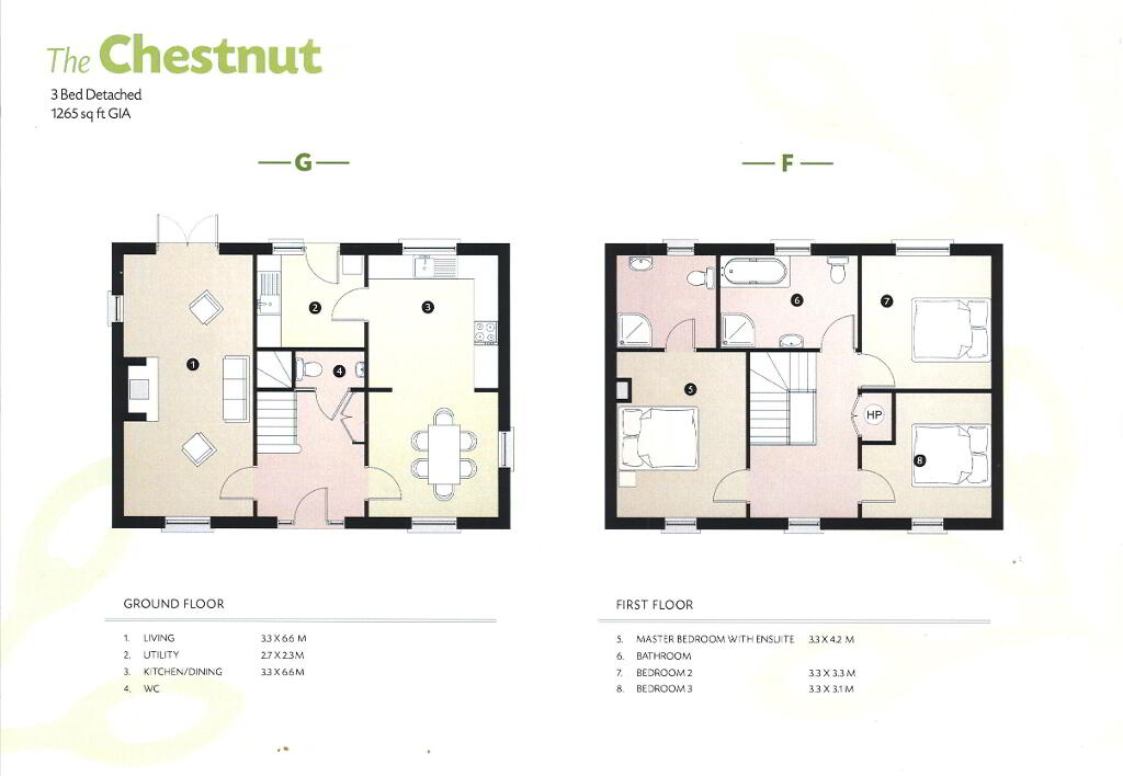 Floorplan 1 of The Chestnut, Drumgarrow Avenue, Coa Road, Enniskillen